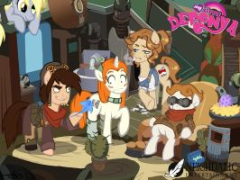 My little Deponia! by Hallogreen
