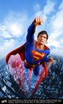 Christopher Reeve as Superman by iskandarsalim