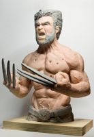 Wolverine Sculpture by Danwhitedesigns