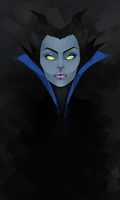 Maleficent by juli3e