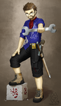 Commission: Redstone Engineer by MykeGreywolf