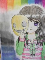 Behind the mask by Allie-Wallie