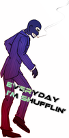 Shufflin' Spy by Hakadirune