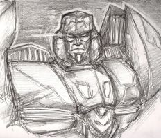IDW Ongoing Megatron Sketch by BLACK-HEART-SPIRAL