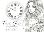 Tessa Gray by Jessica500