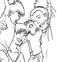 a ShikaTema family sketch by aninhabr