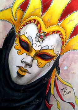ACEO: Carnevale by TeriStearns