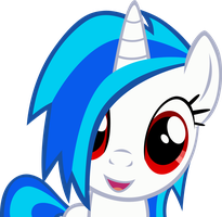 ''Vinyl Scratch'' by RainbowPlasma