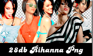 rihanna png pack by ginnycullen