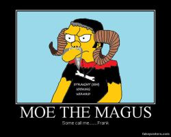 Moe the Magus known as Frank by UncleGargy