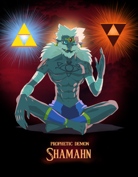 Shamahn, the Prophetic one by NathanAdonis
