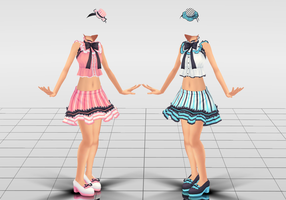 Cute Frilled Outfit DL by Kohaku-Ume