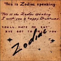 Zodiac killer FONTS by Krishna333