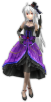 .:DT Gothic Purple Haku DL:. by MeiHikary