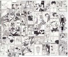 Crash B-Daman Manga Collage by Kyouseme-Arasaki