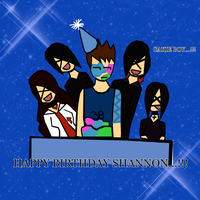 Happy B-Day Shannon by Joy-Nanami