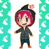 Shark boy Rin by Panic4MCR