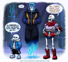 Undertale: Chilled to the bone by Red-Sinistra