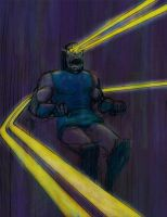 Darkseid after Francis Bacon, version 2 by Nick-Perks