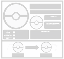 Pokemon Template Two evolution by Trueform
