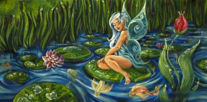 Lily Pad Garden by NynjaKat