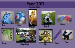 Year of 2011 by CassiniCloset