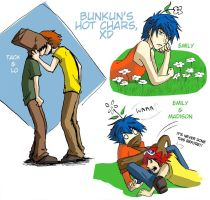 Bunkys gay chars... by Go-Devil-Dante