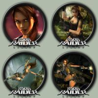 Tomb Raider: Legend Icons by kodiak-caine