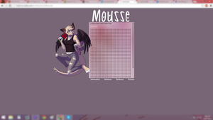 Mousse Website by healove