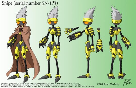 Snipe Character Design by Didj