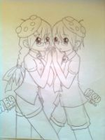 miru and melo by chiihime-chan
