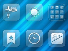 Glasklart iOS 6 Alt.theme by kylebshr