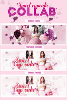 Collab w/ Chim. Sweet Cupcake Like My Love For You by thatsfoxie