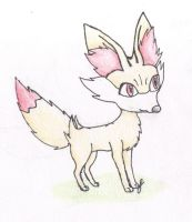 Fennekin by FirionRoseII