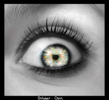 The Birthstone Eyes: October by soPWNEDXcore