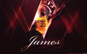 LeBron James by cx by loadinHQ