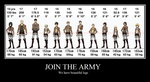 Join the army by feradraco
