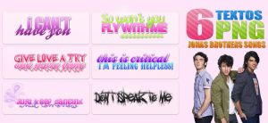 Jonas Brothers Songs PNG by stuckinfame