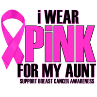 I WEAR PINK FOR MY AUNT by Krazy-Purple