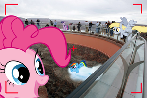 Ponies at the Grand Canyon by Darkkon13