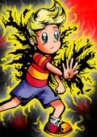 Lucas from Mother 3 by HesNotaPotato