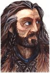 Thorin Oakenshield by Monnih