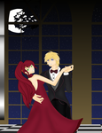 Pyrrha and Jaune by idkskittles94