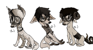 1930 -Adoptables-! (CLOSED) by Krazykatlove