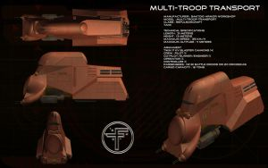 Multi Troop Transport ortho by unusualsuspex