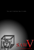 Rejected Saw V Poster by lyoko806