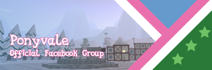 Proposed Ponyvale Facebook Group Banner by ShiningWingPony