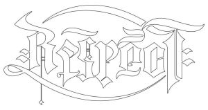 respect-loyalty ambigram by raixhell