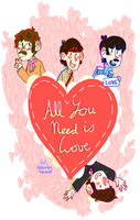 All You Need Is Love by KabouterPollewop