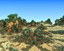 Fractalscape planet 2 by love1008